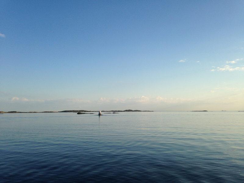 BILD: en båt på havet
